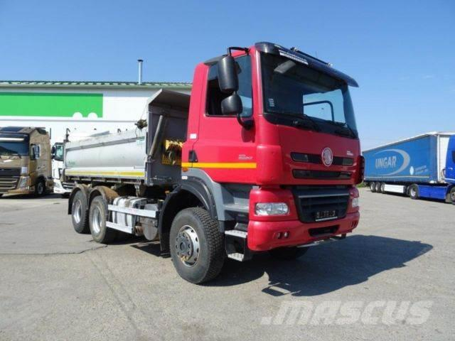 Tatra T 158,threesided kipper,manual,E 5, 6X6,vin 178