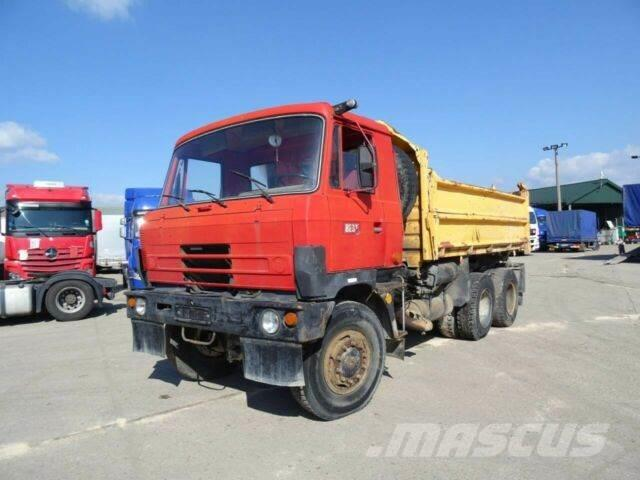 Tatra T 815 6x6, threesided kipper, manual, vin 466