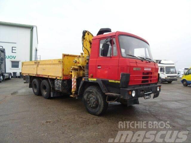 Tatra T815 6x6 with hydraulic crane, vin 270
