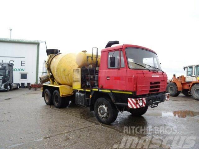 Tatra T815 betonmixer 6x6, 7m3, vin 118