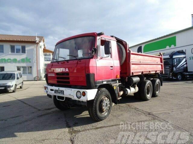 Tatra T815 S3 6x6, threesided kipper 9m3,VIN 143
