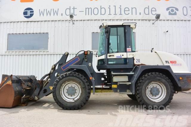Terex TL 160 Schaufel & Palettengabel