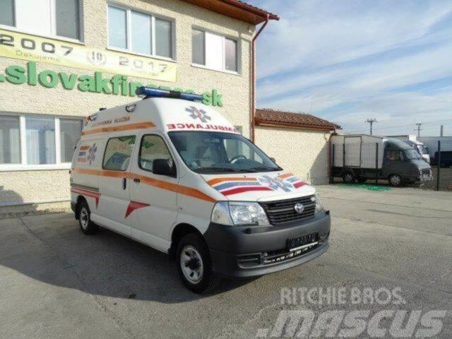 Toyota HIACE 4WD Emergency Vehicle, vin 272
