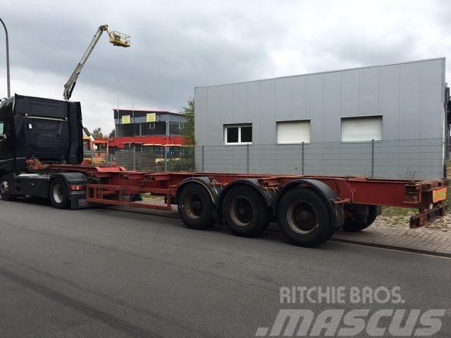 Trax Jost Containerauflieger