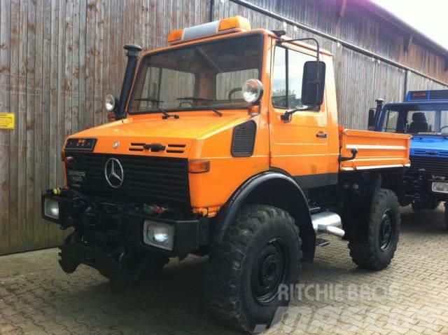 Unimog 1200 427 opt. Schneepflug +Streuer
