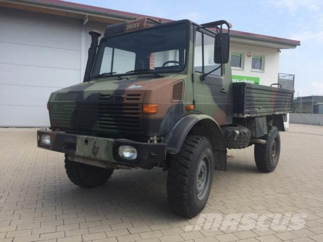 unimog 1300l typ 435 ex bundeswehr guter zustand pickup. Black Bedroom Furniture Sets. Home Design Ideas