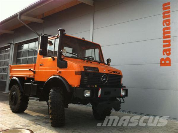 Unimog 1600 Euro2 Typ 427 opt.Schneepflug Top