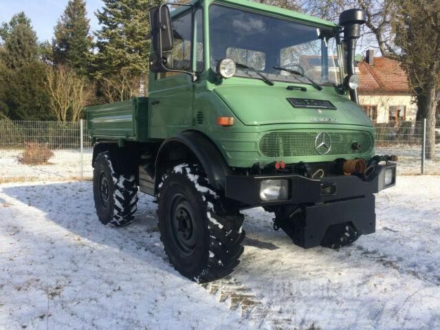 Unimog 417 Agrar U900 top Kraftheber