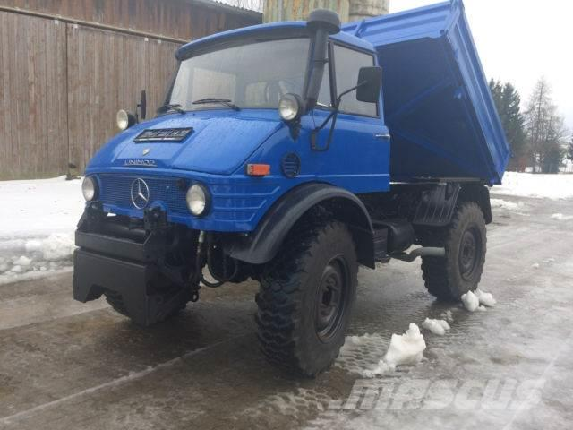 Unimog 800 U 406 /403 Kipper Zugmaschine top