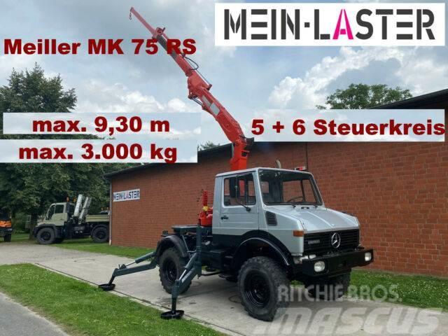 Unimog U 1000 Meiller Kran 9,30 m max. 3 t