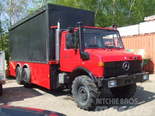 Unimog U 1200 T, Ruthmann, Niederflurhubwagen