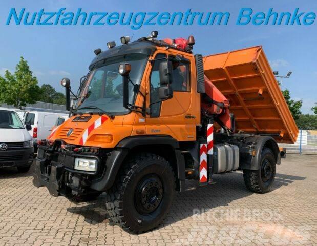 Unimog U 500 Lang/ 210kw/ Pk12001/ Kipper/ Vario-Pilot