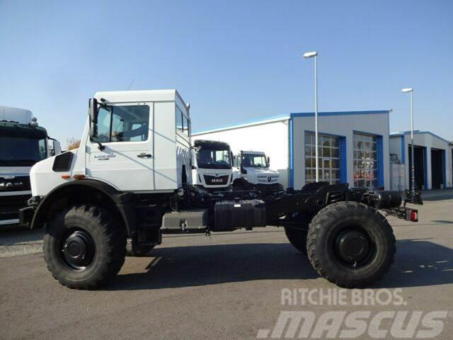 Unimog U 5023 Neu 4x4 Fahrgestell/6Tkm/Klima