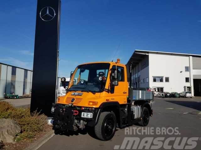 Unimog U300 4x4 Hydraulik Standheizung Klima