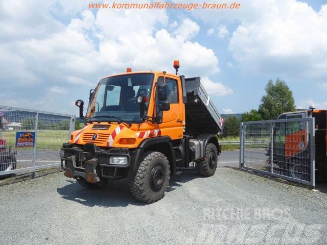 Unimog U400 BlueTec 4 Kipper nur 171 Tkm. u. 8650 Std.