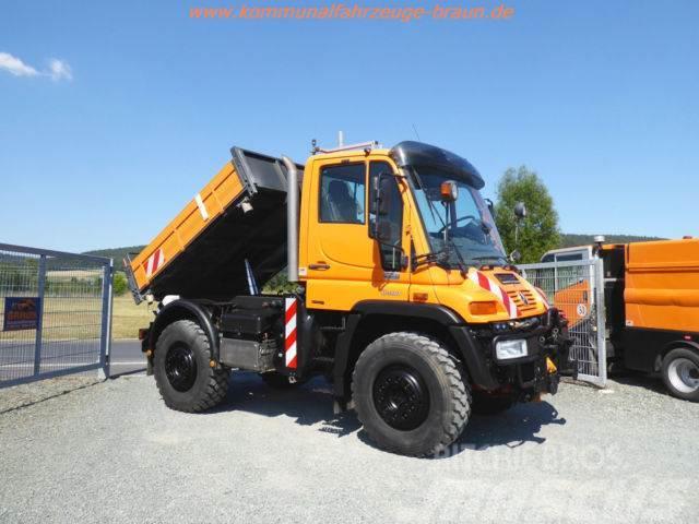 Unimog U400 BlueTec 4 Kipper nur 104 Tkm. TOP ZUSTAND