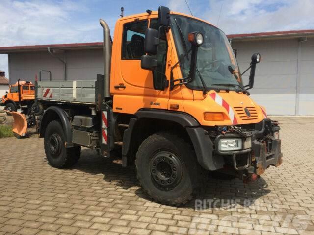 Unimog U400 Typ 405/12 Wechsllenkung Klima Euro4