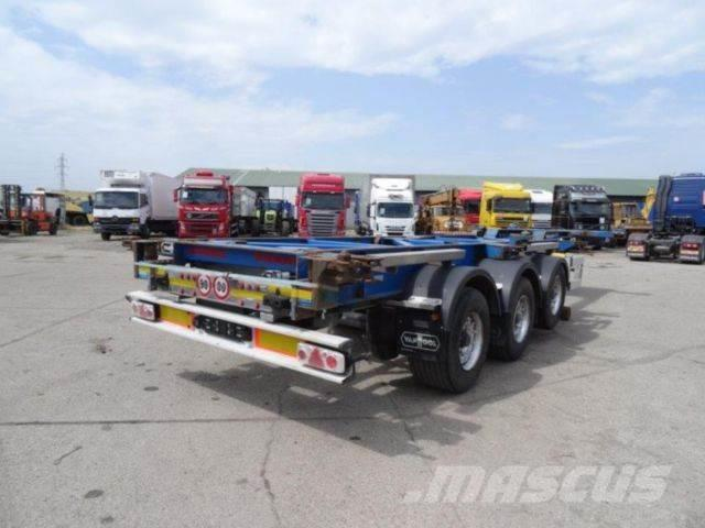 Van Hool container carrier, possible to extend, vin 925