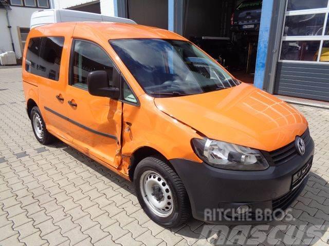 Volkswagen Caddy 1,6 TDI Kasten/Kombi 5 Sitzer mit AHK
