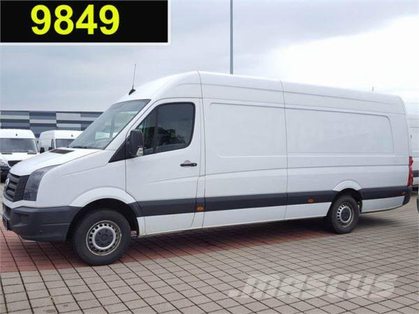 volkswagen crafter 35 2 0 tdi kasten maxi xxl mit berhang occasion prix 11 700 ann e d. Black Bedroom Furniture Sets. Home Design Ideas