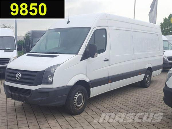 volkswagen crafter 35 2 0 tdi kasten maxi xxl mit berhang. Black Bedroom Furniture Sets. Home Design Ideas
