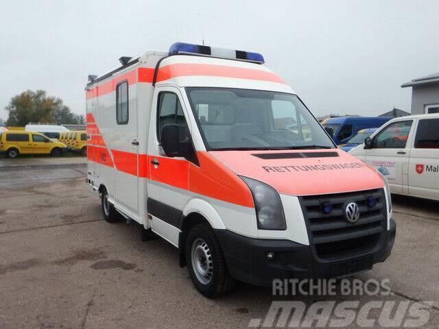 Volkswagen Crafter 35 L2 - KLIMA - Krankenwagen