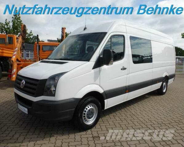 volkswagen crafter 35 lr doka kasten 5 sitzer klima ahk. Black Bedroom Furniture Sets. Home Design Ideas
