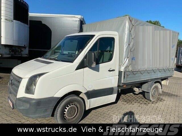 Volkswagen Crafter Pritsche 35 Plane ,5 TDI Anhängerkung