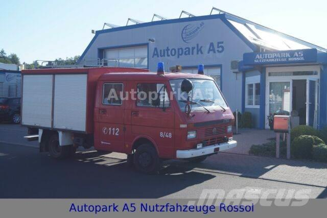 Volkswagen LT 50 Feuerwehrauto Pumpe Rosenbauer T8