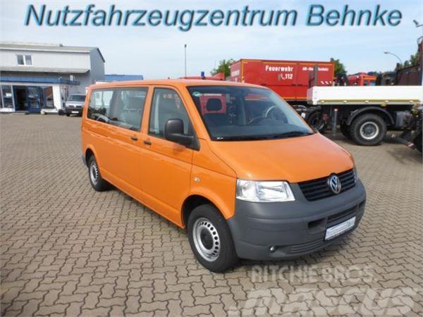 Volkswagen T5 1.9 TDI 75 kw Kombi LR 9 Sitze AHK 2.5t