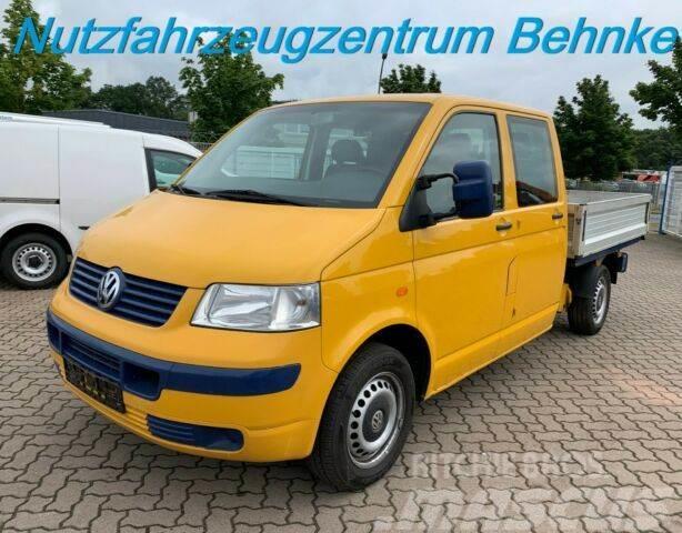 Volkswagen T5 1.9 TDI Doka Pritsche/ 63kw/ 6 Sitze/ AHK