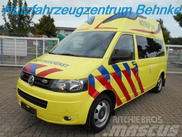 Volkswagen T5 HD + LR KTW Ambulanz Mobile m. Auffahrrampe
