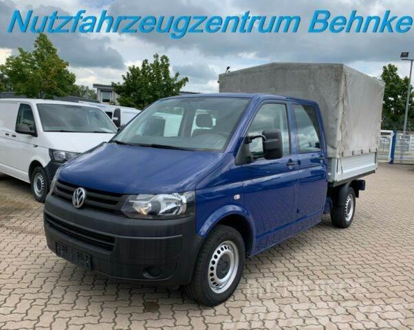 Volkswagen T5 Transporter LR DoKa Pritsche/ Plane/ Klima