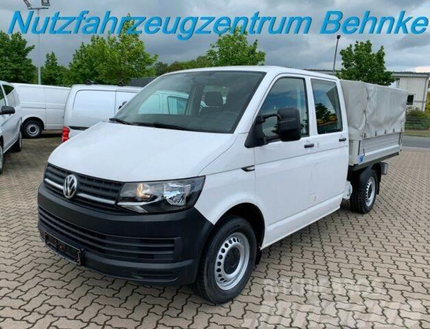 Volkswagen T6 DoKa LR Pritsche+Plane/ Klima/ Euro 6