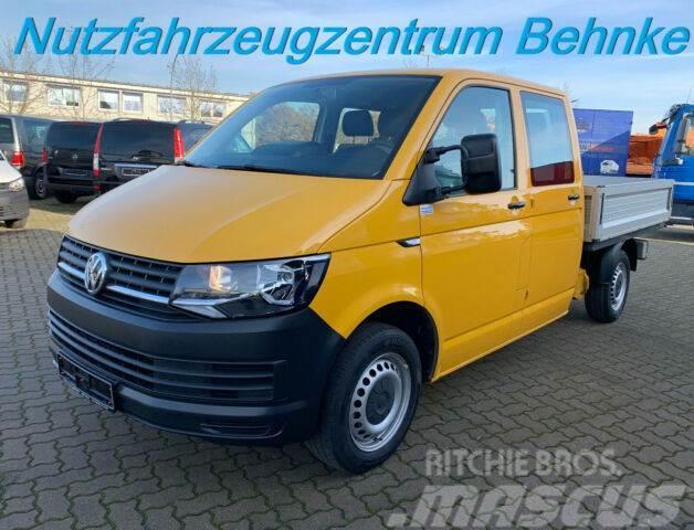 Volkswagen T6 Doka Pritsche/110kw/6Sitze/Klima/AHK/E-Paket