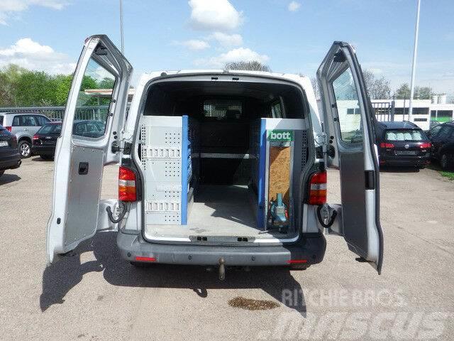 Volkswagen Transporter T5 2,5l 4-Motion - Werkstatteinbau
