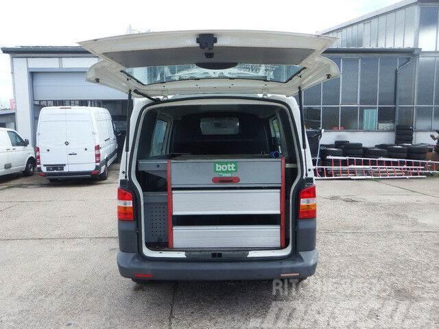 Volkswagen Transporter T5 2,5l 4Motion KLIMA Bott Werkstatt