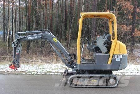 Volvo EC 15B XTV, 2010, Mini excavators < 7t (Mini diggers)