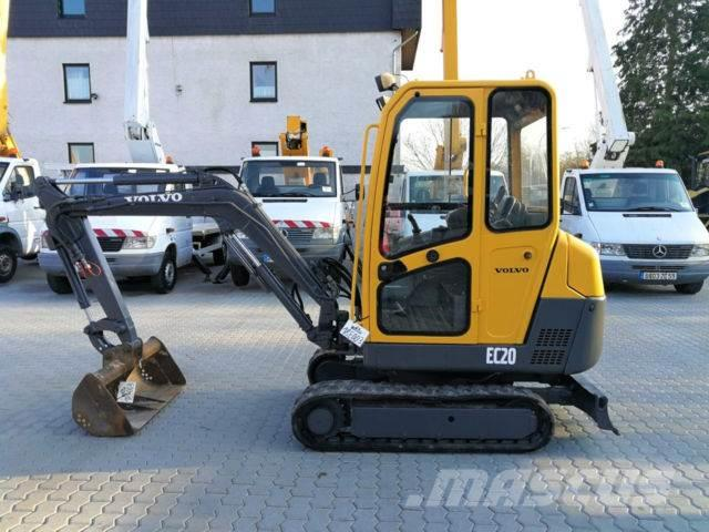 Volvo EC 20 /Hammer/2xtieflöffel