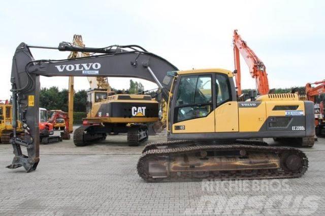 Volvo EC220DL - Klima+kompl. Hydraulik+ohne Anbaugerät