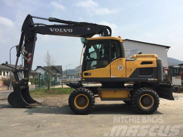 Volvo EW 160 D *nur 4009 Betriebsstunden!!*
