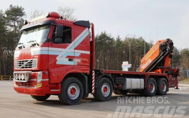 Volvo FH 12 460 8x4 PALFINGER PK 56002 E Kran Cran !!