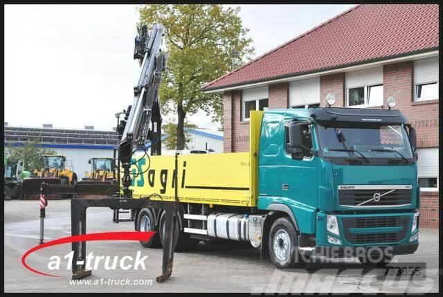 Volvo FH 420, Baustoff, 6x4, Fassi F215 AS 22,