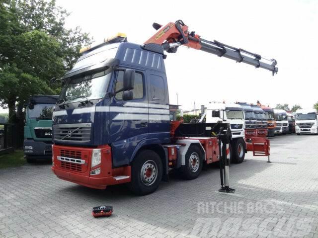 Volvo FH13 540 8X4 mit Kran Palfinger 60 T/M