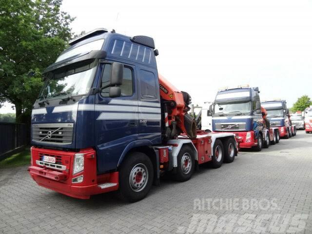Volvo FH13 540 8X4 mit Palfinger PK60002