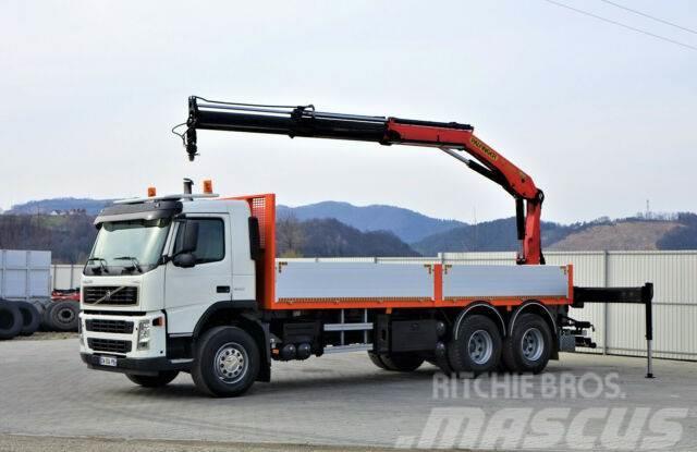 Volvo FM 12 340 Pritsche 6,90m + Kran/FUNK*6x4*