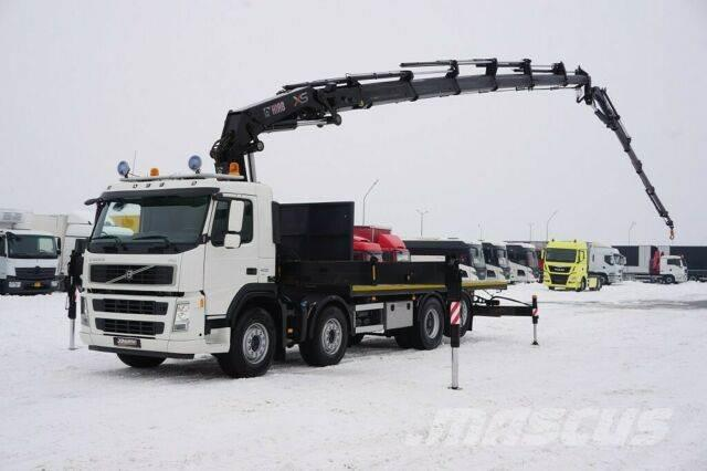Volvo FM 400 / E 5 / SKRZYNIOWY + HDS HIAB 422 E-6 + J