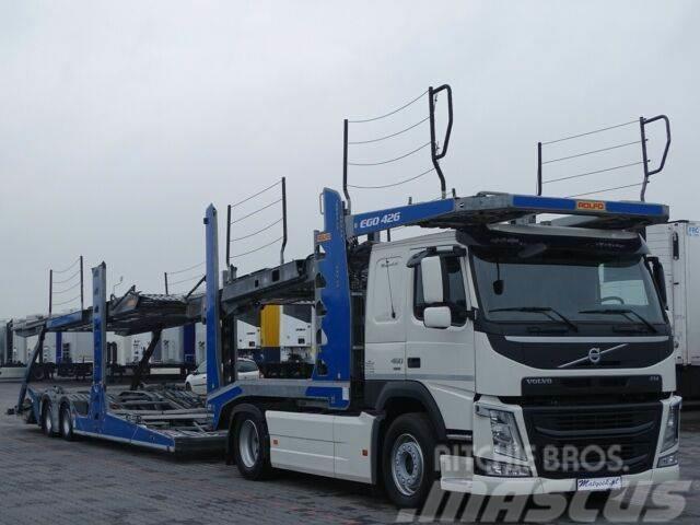Volvo FM 460/ACC/EURO LOHR/ROLFO/9 CARS/AUTOTRANSPORTE