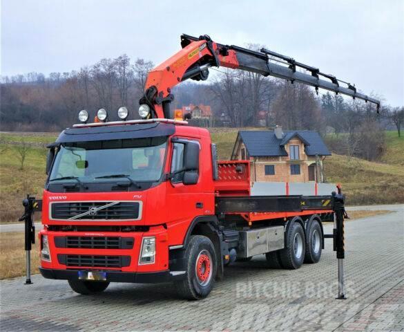 Volvo FM 480 Pritsche 6,40m + Kran*6x4*