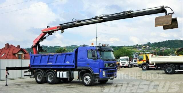 Volvo FM 500 Kipper+Bordmatic 5,10m+Kran/FUNK!